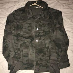 Loft Army Camo Jacket
